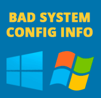 BAD SYSTEM CONFIG INFO